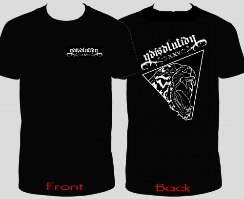 Noisolution XXV - T-Shirt (beidseitiger Druck / Front Noisolution - Back Tiger)