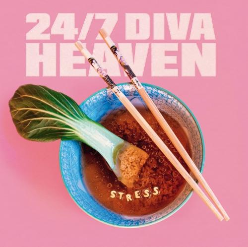 24/7 Diva Heaven - Stress - LP (Schwarzes 140 Gr Vinyl + Poster + DLC)