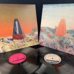 Coogans Bluff - The C-Side of Metronopolis - einseitig bespielte 12 4-track EP - limited blaues Vinyl