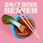 24/7 Diva Heaven - Stress - LP (Erstauflage in weißem 140 Gr Vinyl + Poster + DLC)