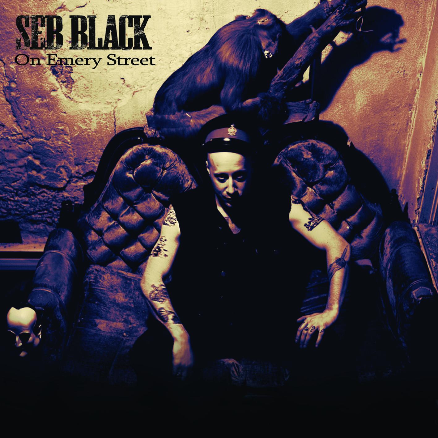 Seb Black, On Emery Street, Album, Cover, Noisolution