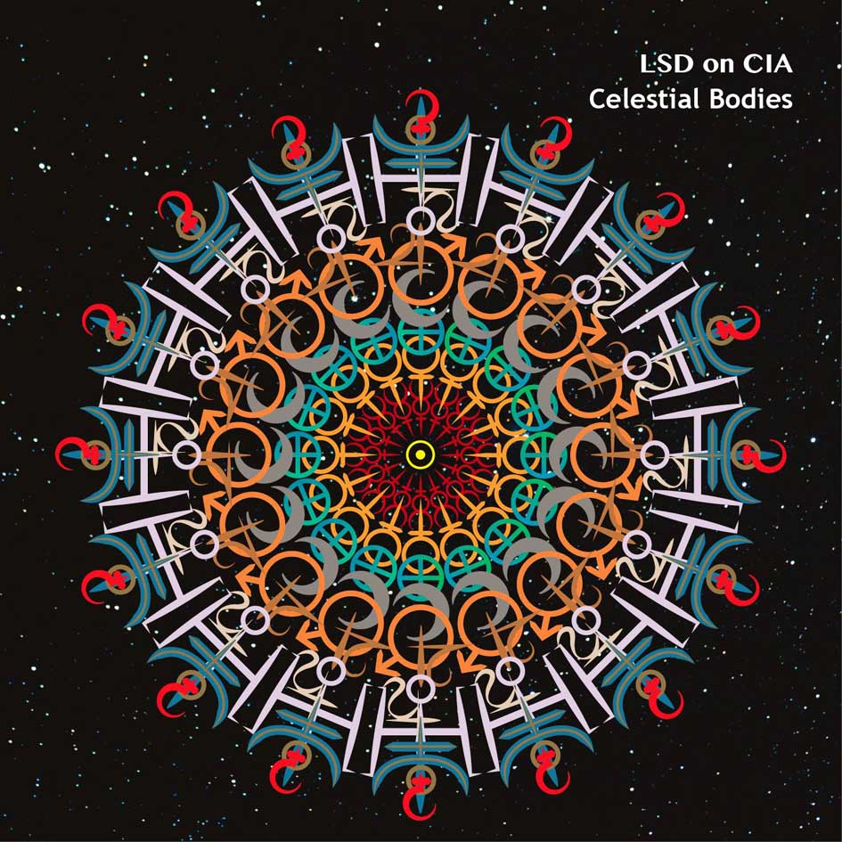 LSD ON CIA, Celestial Bodies, Noisolution, Cover